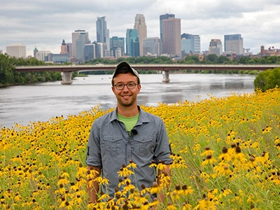 Alex Roth, Ecologist with Friends of the Mississippi River