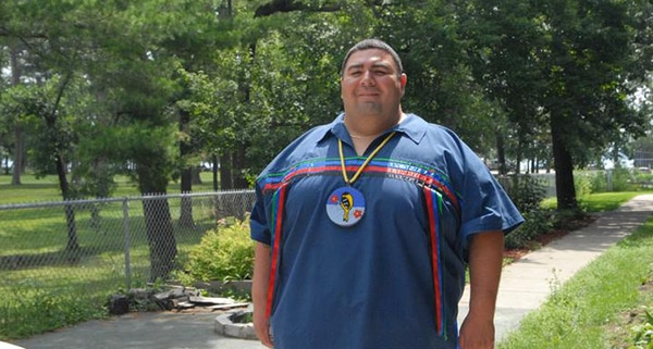 Charles Grolla, a member of the Bois Forte band of Ojibwe,